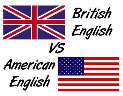 تفاوت های انگلیسی آمریکایی و بریتانیایی
