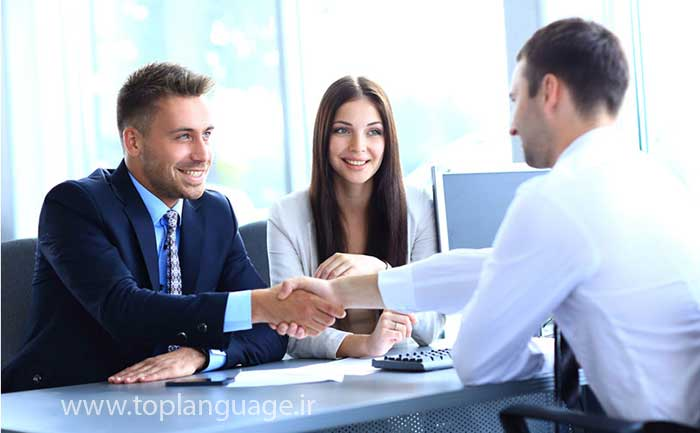 ترجمه زبان در جلسات تجاری و اداری