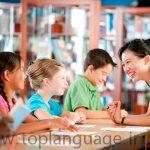 آموزش زبان دوم برای بچه ها