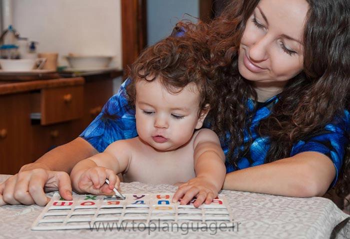 یادگیری حروف الفبای انگلیسی برای کودکان